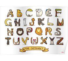 Cat Alphabet Poster