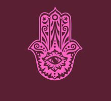 Hamsa - Hand of Fatima, protection symbol Womens Fitted T-Shirt
