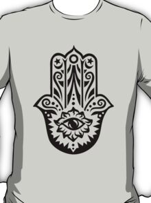 Hamsa - Hand of Fatima, protection symbol T-Shirt