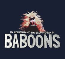 My Neighbourhood has been Overrun by Baboons #1 by GooRoo Animation
