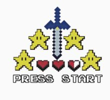 8-bit start by JJImagearts