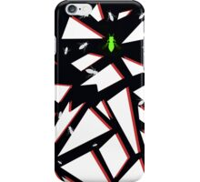 Buggin' Out in Love (Lime & Raspberry) iPhone Case/Skin