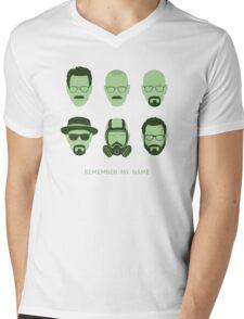 ALL HAIL HEISENBERG! Mens V-Neck T-Shirt