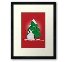 Snowdroid Framed Print