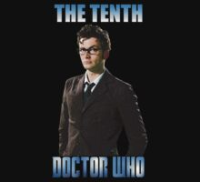 Tenth Doctor Who - David Tennant by Marjuned