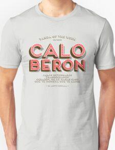 2013/29 - Caló Berón - Red Unisex T-Shirt