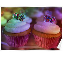 Birthday Cup Cake Poster