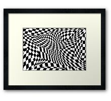Abstract - Ow my eyes Framed Print
