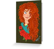 Brave: Merida Greeting Card