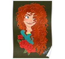 Brave: Merida Poster