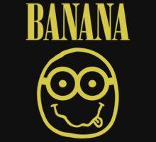 Nirvana Banana Logo by Vitaliy Klimenko