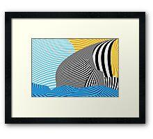 Abstract - Sailing Framed Print