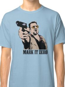 The Big Lebowski Mark It Zero Color Tshirt Classic T-Shirt