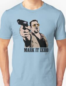 The Big Lebowski Mark It Zero Color Tshirt T-Shirt
