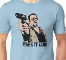 The Big Lebowski Mark It Zero Color Tshirt Unisex T-Shirt