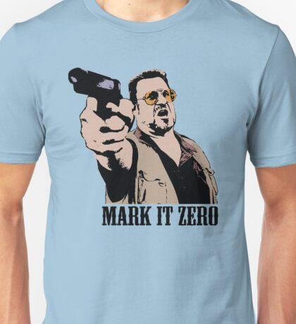 The Big Lebowski Mark It Zero Color Tshirt Unisex T-Shirt