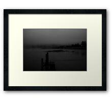 Milbridge in the morning Framed Print