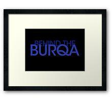 Behind the Burqa Framed Print