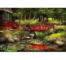 Japanese Garden - Meditation  Photographic Print