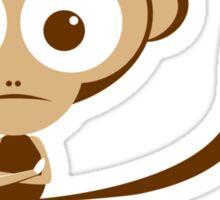 Monkey Grmph! Sticker
