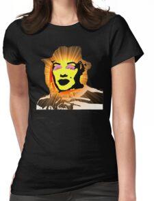 MARILYN MONROE - FREDDIE KRUEGER Womens Fitted T-Shirt