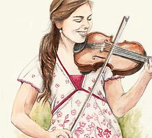 violin by karen sheltrown