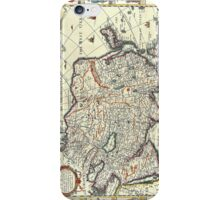 Vintage Map of Asia iPhone Case/Skin