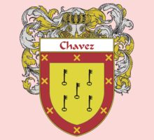 Chavez Coat of Arms/Family Crest One Piece - Short Sleeve