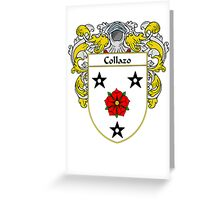 Collazo Coat of Arms/Family Crest Greeting Card