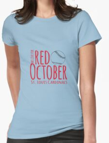 Red October Womens Fitted T-Shirt