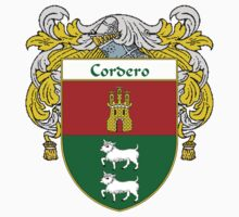 Cordero Coat of Arms/Family Crest by William Martin