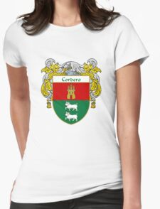 Cordero Coat of Arms/Family Crest Womens Fitted T-Shirt