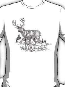 Stag Sketch T-Shirt