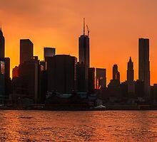 Manhattan by Mikhail Palinchak