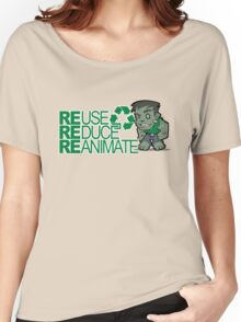 Frankenstein - Recycle Women's Relaxed Fit T-Shirt