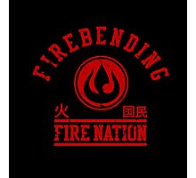 Fire nation Photographic Print