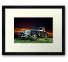 1931 Chrysler Imperial CG Framed Print