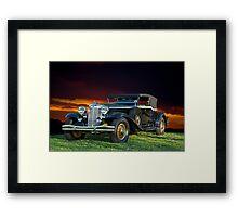 1931 Chrysler Imperial CG Framed Print