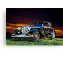 1931 Chrysler Imperial CG Canvas Print