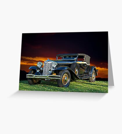 1931 Chrysler Imperial CG Greeting Card