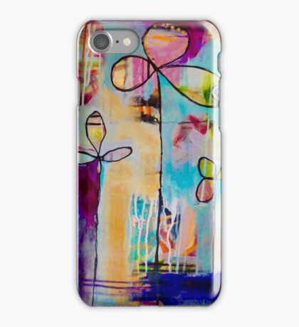Following Flora iPhone Case/Skin