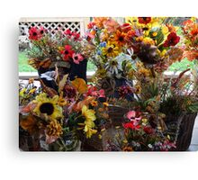 More festive fun in fall Canvas Print
