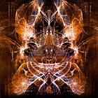 The Chinese Dragon - Chromatic Lightburst by ifourdezign