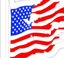 The United states of surveillance Sticker
