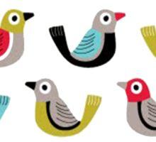 Bird Spieces [Climate Change 2015] Sticker