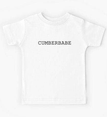 Cumberbabe Dark Kids Tee