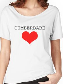 Cumberbabe Dark Heart Women's Relaxed Fit T-Shirt