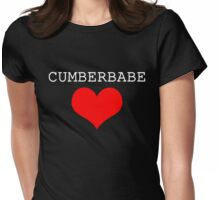 Cumberbabe Light Heart Womens Fitted T-Shirt