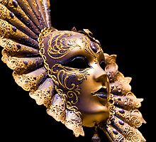 Venetian Golden mask by SteveHphotos