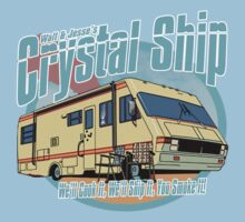 Bad Break - Walt And Jesse's Crystal Ship by Immortalized